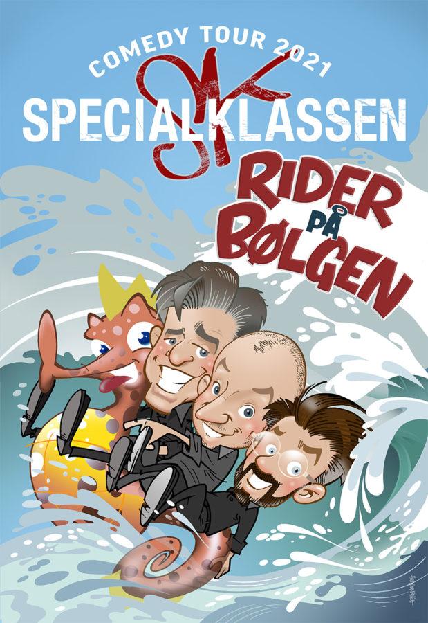 Specialklassen_Rider-paa-boelgen_plakat